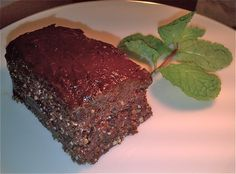 Raw Chocolate Ginger Cake with Cacao Frosting