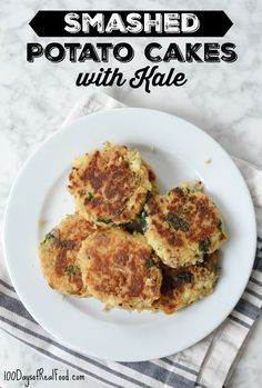 Smashed Potato Cakes