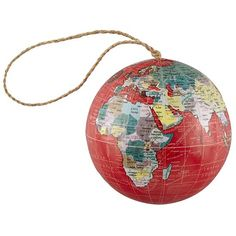 Red Globe Ball Ornament-- Ornament Reviews