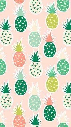 Fun Phone Background Prints by Greetabl Pineapple Backgrounds, Cute Backgrounds, Cute Wallpapers, Wallpaper Backgrounds, Iphone Backgrounds, Cute Pineapple Wallpaper, Blush Wallpaper, Iphone Wallpaper Vsco, Colorfull Wallpaper