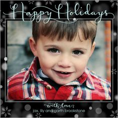 It's Snowing Happiness Holiday Card