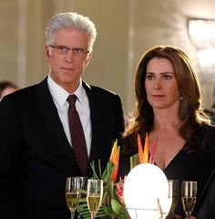 Ted Danson and Peri Gilpin ~ CSI: Las Vegas