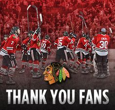"""Chicago Blackhawks Sitting in the UC watching the """"orchard"""" on the jumbo tron, seeing the players skate out and finally singing the National anthem.....for me it doesn't get any better!"""
