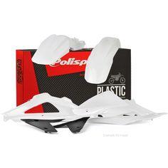 Polisport Husqvarna Plastic Kit - White