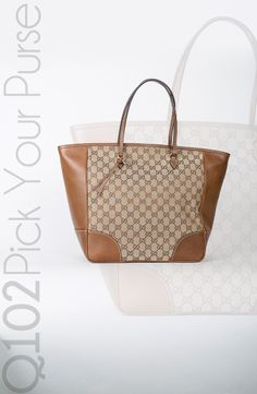 Gucci - Signature Tote. Go to wkrq.com to find out how to play Q102's Pick Your Purse!