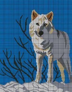 Montana Wolf Crochet Pattern