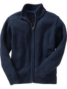Boys Zip-Front Sweaters 18.00 | Old Navy