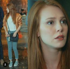 Elcin Sangu, Hooded Winter Coat, Prettiest Actresses, Blair Waldorf, Feather Necklaces, Messy Hairstyles, Look Fashion, Pretty Woman, Casual Chic