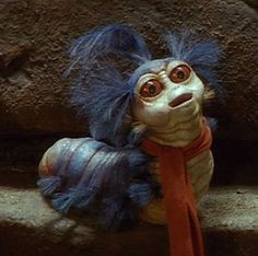 The Goblins are seen through out the entire movie of Labyrinth, they are the first creatures we see however when they are about to steal the baby away and take him to the Goblin King (David Bowie) . Each creature has a completely different. Labyrinth Goblins, Labyrinth Worm, Labyrinth 1986, Labyrinth Movie, Jim Henson Labyrinth, David Bowie, Image Meme, Karate Kid, Tatoo