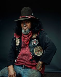A New Zealand based motorcycle gang called the Mongrel Mob. Biker Clubs, Motorcycle Clubs, Polynesian People, Mongrel, Motorcycle Photography, Portraits, People Of The World, Photo Reference, Looks Cool