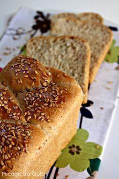 Pão de fôrma semi-integral