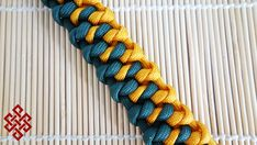 How to Make the Snake Knot Bar Paracord Bracelet Tutorial