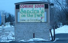 With steaks, ribs, pasta and pizza at dinner, Sandra's on the Park will take over the former Mia Famiglia space at 10049 W. Forest Home Ave. in Hales Corners.<br /><br />The restaurant would serve fish fry on Fridays and eventually will open for breakfast, said Sandra Van Remmen Prosser. During happy hour, guests will find complimentary cheese fondue at the bar.