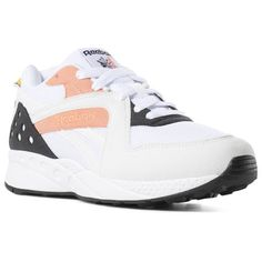 835ad191b9d Reebok Shoes Unisex Pyro in White Stellar Pink Trek Gold Size M 11