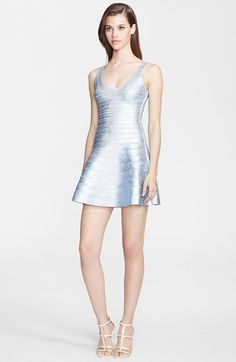 Herve Leger Bandage Tank Dress available at #Nordstrom
