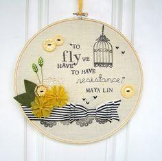 Embroidery Hoop.