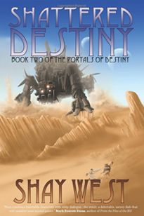 In the second book of The Portals of Destiny series, the Chosen have teamed up to learn about each other's worlds. But things on their home planets are not as they left them. Astra is plagued by a genocidal maniac, Earth's Jhinn are worse for the wear after losing their General, and Volgon is turning over a new leaf. When more of the Chosen die, the question becomes not how will the Chosen defeat the Mekans, but can they?