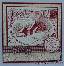 stampendous snowy postcard - Google Search