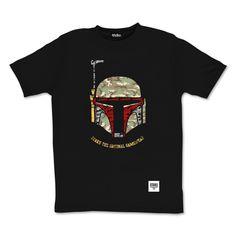 tee-shirt Bobba camo by Otaku gamewear