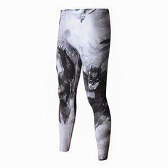 ZRCE Nouveau Haute Qualité Hommes Skinny Pantalon 3D Motif Superman Iron Man Flash Musculation Jogger Fitness Skinny Leggings Pantalon