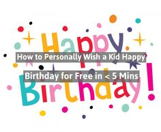No matter how big your church is: People want personal. And a simple way to be personal is through birthday wishes. Here's how to do it quickly and for free