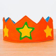 Felt crown #crown #kids #niños #coronas #birthday #cumpleaños #regalos