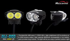MJ 880 - Magicshine - Fahrradbeleuchtung - Outdoor- Beleuchtung - LED Fahrradlampe