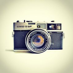 Olympus 35 SP from late 60s. First rangefinder camera with spot metering. #neoretrogizmos by Pinot & Dita, via Flickr