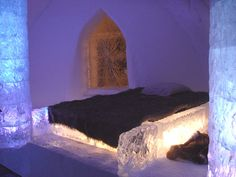 Real ice hotel