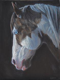 equine portrait | My Painted Life