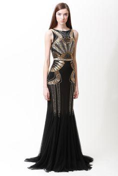 Badgley Mischka Gatsby / Art Deco Gown