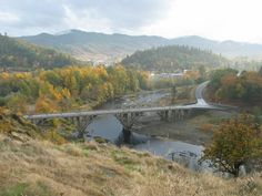 Bridge at entry of Myrtle Creek Oregon