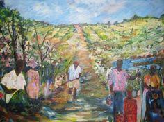 "Original oil on canvas, 16""x20"".  The Harvest"