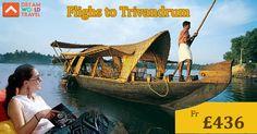 Find Great Deals on Flights to Trivandrum from Dream World Travel.Get cheap Flight Deals, Holiday Deals and Hotel Deals to your Favourite destinatons worldwide at www.dwtltd.com.  #CheapFlights #Flights #Deals #To #Trivandrum