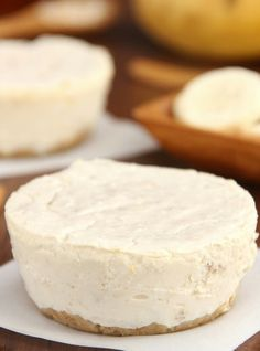 Banana Breakfast Cheesecakes