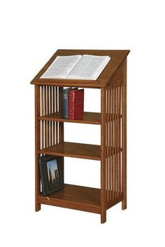 Amish Mission Dictionary Bookcase or Podium