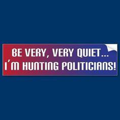 Very Very Quiet Bumper Sticker