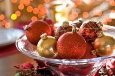 Chloe's Inspiration ~ Simple Christmas Centerpieces - Celebrate & Decorate