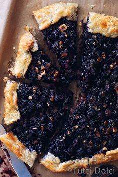Blueberry Crostata | Tutti Dolci