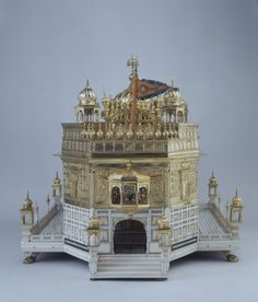 Address Casket Shaped like the Golden Temple of Amritsar India, late 19th century The Royal Ontario Museum
