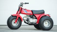 1984 Honda ATC 70 I souped up one of these to beat the 250.