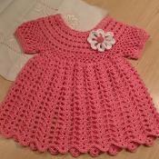Dress Tunic, Peaches & Cream PDF12-097 - via @Craftsy