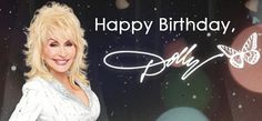 Today is Dolly Parton's Birthday and to celebrate Richard is spotlighting this great country artist during our Alphabet Soup Kitchen at the noon hour on KXOX! Happy bday Dolly!