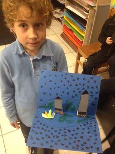 3D craft by 2nd grades