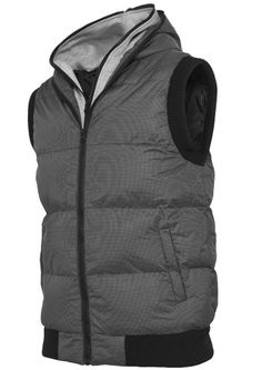 Double Hooded Vest - $699 Hooded Vest, Vests, Hoods, Winter Jackets, Fashion, Winter Coats, Moda, Cowls, Cooker Hoods