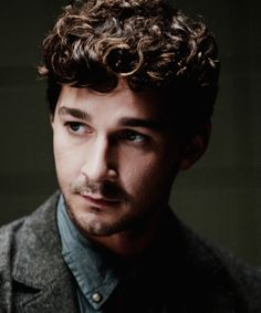 Shia LaBeouf in The Company You Keep- His natural hair! I love it!