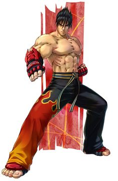 Jin Kazama from Project X Zone 2