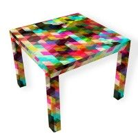 This gave me the idea to modge podge art table with pieces of tissue paper!!!!
