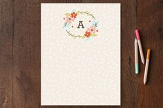 All Good Things Personalized Stationery by Kristie Kern at minted.com