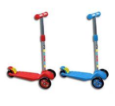 Πατίνι τρίκυκλο. Διαθέσιμο σε 2 χρώματα Amazing Toys, Abdominal Muscles, Tricycle, Cool Toys, Baby Toys, Kids, Young Children, Boys, Abs